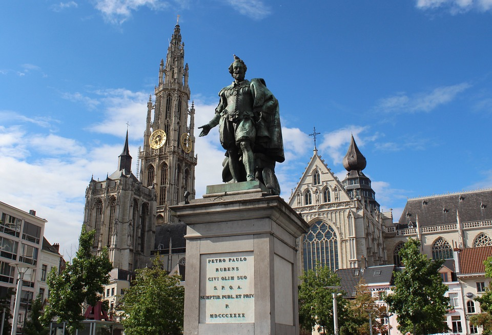Antwerp city centre 比利时安特卫普 市中心