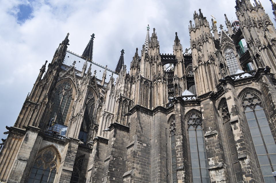 Cologne cathedral科隆 大教堂建筑物