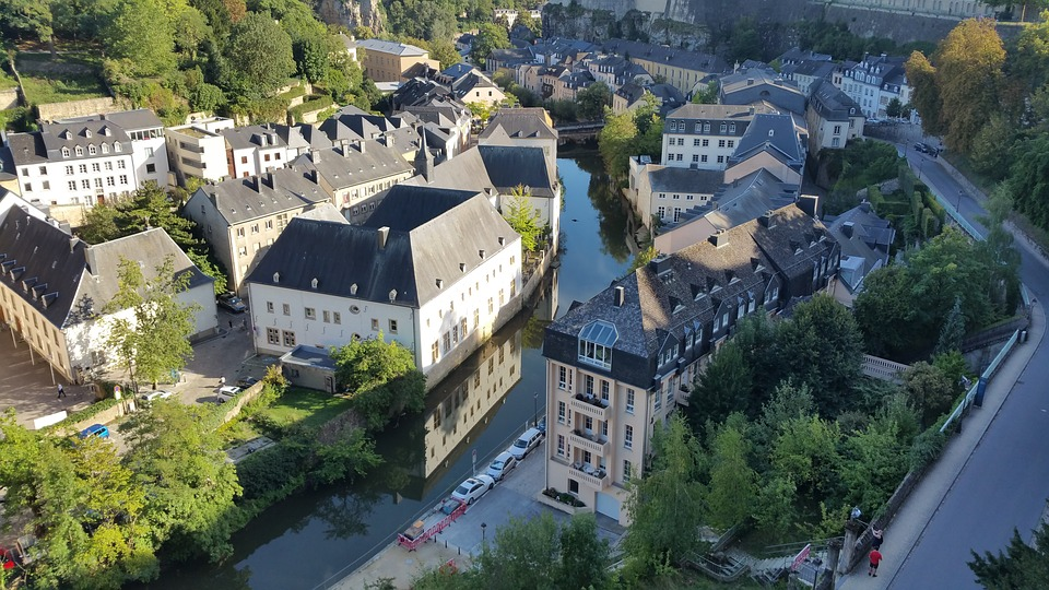 Luxembourg 卢森堡 公园 建筑
