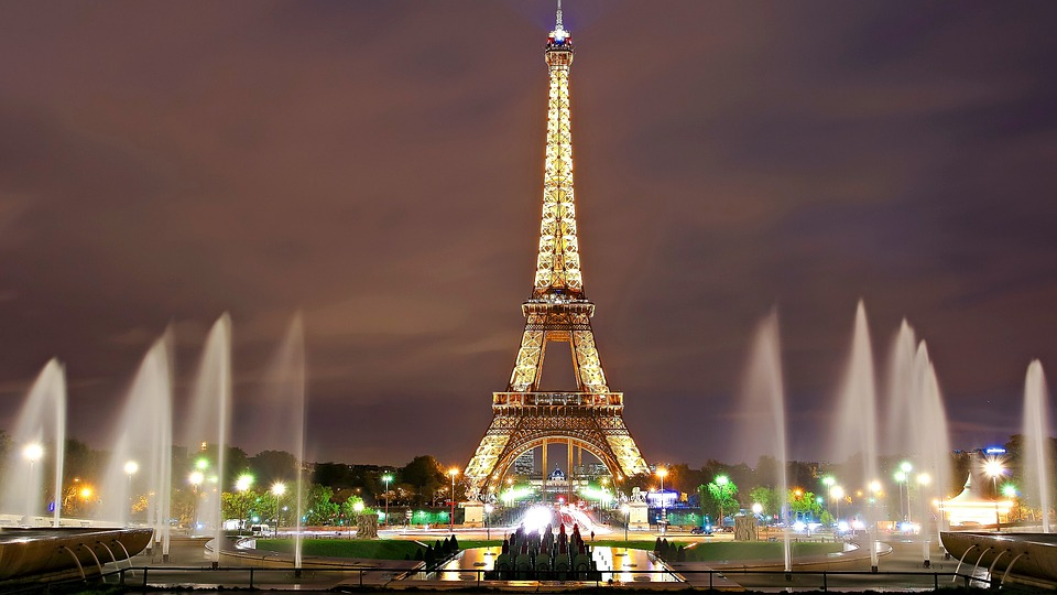 Paris eiffel tower 法国 巴黎 埃菲尔铁塔