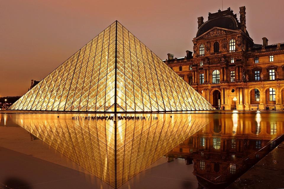 Paris Louvre法国 巴黎 卢浮宫博物馆